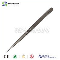 SS-SA long stainless steel pointed plating tweezers