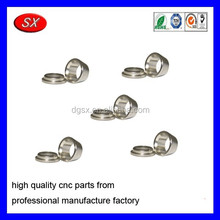 custom cnc turned parts Ferrule Set Spare Parts Stainless Steel Compression Fittings