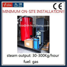 3HP 102psi Water Tube Type Natural Gas Steam Boiler