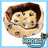 The Dog Paw Design Fluffy Type Two Joining Together Designer Dog Large Pet Products