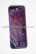 Custom modern design silk screen printed clothing coated hang tags