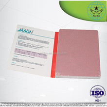 high quality JASON fireproof paperbacked gypsum plasterboard/drywall/wall panel