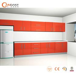 Intelligent combined melamine kitchen cabinet,kitchen cabinet plate rack
