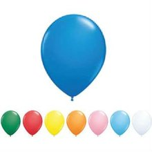 "Promotional Qualatex - 10"" - Standard Colors Round Latex Balloon"