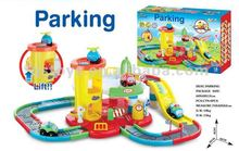Electric Train,Rail Car,Parking Lot