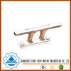 Stainless steel mooring cleat for ship