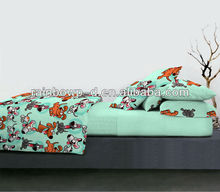 kids bedding with dogs bed sheet