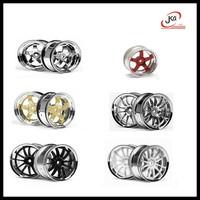 RC 5 Hole Hobby Drift Car Accessories Spare Parts 3/6/9mm offset 4PCS 1/10 Plastic Wheel Rim