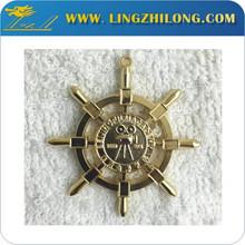 Compass shape machine to make medal masonic new design gold pendant