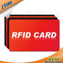 Plastic ID Card with TK4100 Chip, TKS50 Thin Card, 125kHz RFID Smart Cards