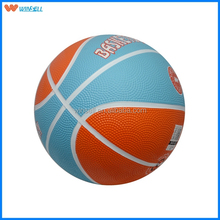 Hot sale outdoor composite material rubber basketball