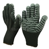 NMSAFETY black foam nitrile impact safety gloves