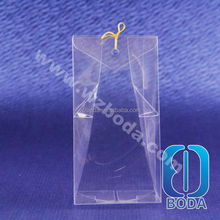 clear plastic packaging pvc solid perfume box