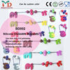 2015 New Design Silicone Baby Teether Chew Beads
