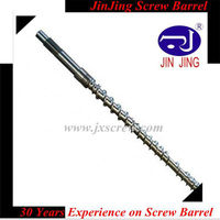 PLA Plastic Extrusion Screw and Barrel / Screw and Barrel for Extruder