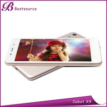 Super slim Cubot X9 Octa core MTK6592 1.4Ghz 2G+16G F8.0MP/R13.0MP zoom lens for mobile phone with price