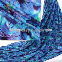 Factory direct supply digital print fabric for swimwear/sportswear