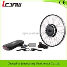 Economical!36v 500w rear wheel hub brushless motor/BLDC electric bike conversion engine kits,JNW23