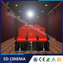 New Products Hydraulic/Electronic Amusement Park Equipment Arcade 5D Reclining Cinema Seats
