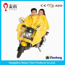 Maiyu double rain coat for motorcycle