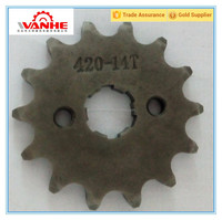Motorcycle chain and sprocket kit/Front sprocket
