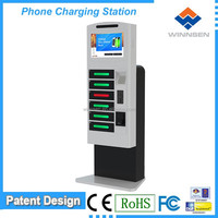 charging station/mobile phone charging cable/cell phone charging lockers APC-06B