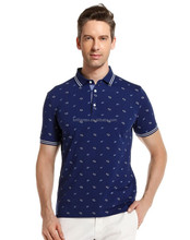 Top Quality Make Your Own Design Casual Men POLO T-Shirts Embroidery Designs