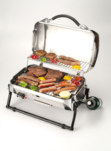 Portable table top indoor & outdoor BBQ/barbecue propane gas grill