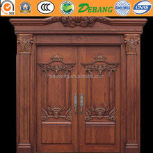 Manufacturer Factory In China House Modern Wooden Door Design For House