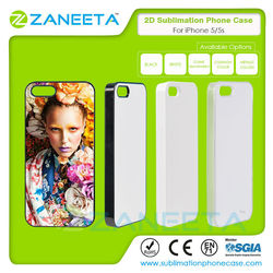 2D Sublimation Phone Case for iPhone 5/5S   Sublimation case for iPhone 5   sublimation blank case for iphone