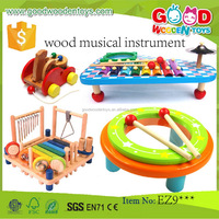 EN71/ASTM new item colorfull educational xylophone OEM/ODM wood musical instrument