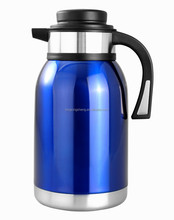 newest stainless steel thermos coffee pot/18 8 coffee thermos bottle with wide mouth/double wall SS thermos coffee pot