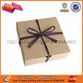 Papel de cartón marrón para cajas de caramelos