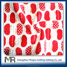 thermal polyester mesh jersey fabric