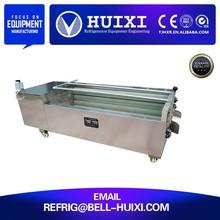Food Processing Machine Vegetable Washer Potato Brush Washer