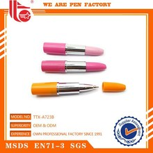 Eco-friendly Material Top Quality Logo Printed pretty style cheap plastic ball pen