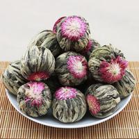 2015yr chinese blooming tea,flower tea balls,blooming flower tea