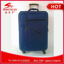 2015 hot selling cheap nylon luggage bag with universal wheels for traveller