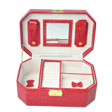 Christmas Gift Box Jewelry Carrying Box