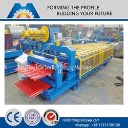 alibaba china color steel sheet double layer roof tile automatic making machine manufacturers