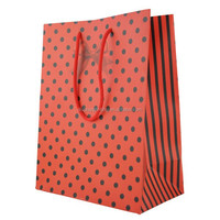 promotional printed gift paper bag with handle