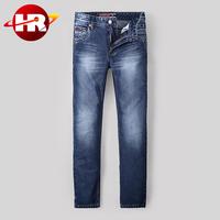 Guangzhou wholesale oem european brands men jeans in classic looking