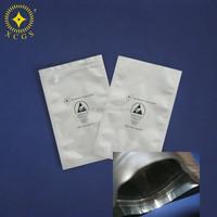 aluminium foil esd bag/aluminum foil vacuum packing bags with heat seal