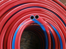 Factory Price from Weifang Changle High Quality High Pressure Resistent PVC Fiber Braided Oxygen and Acetylene Twin Welding Hose
