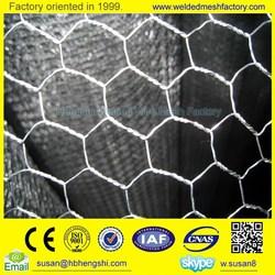 factory Trade Assurance High Quality Anping Hexagonal Mesh / Galvanized Hexagonal Wire Mesh