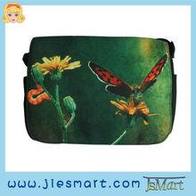 JSMART LUCY Canvas messenger bag canvas printing sublimation artistic design custom-made photo bag