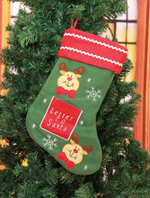 In stock hot selling cheap Christmas stocking