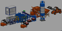 LTQT10-15 Brick making machine manufacturer