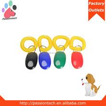 Custom Logo I-Click Plastic Training Clicker For Dog CK 01