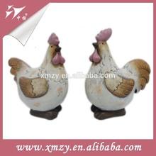 ventas al por mayor de cerámica decoración gallo